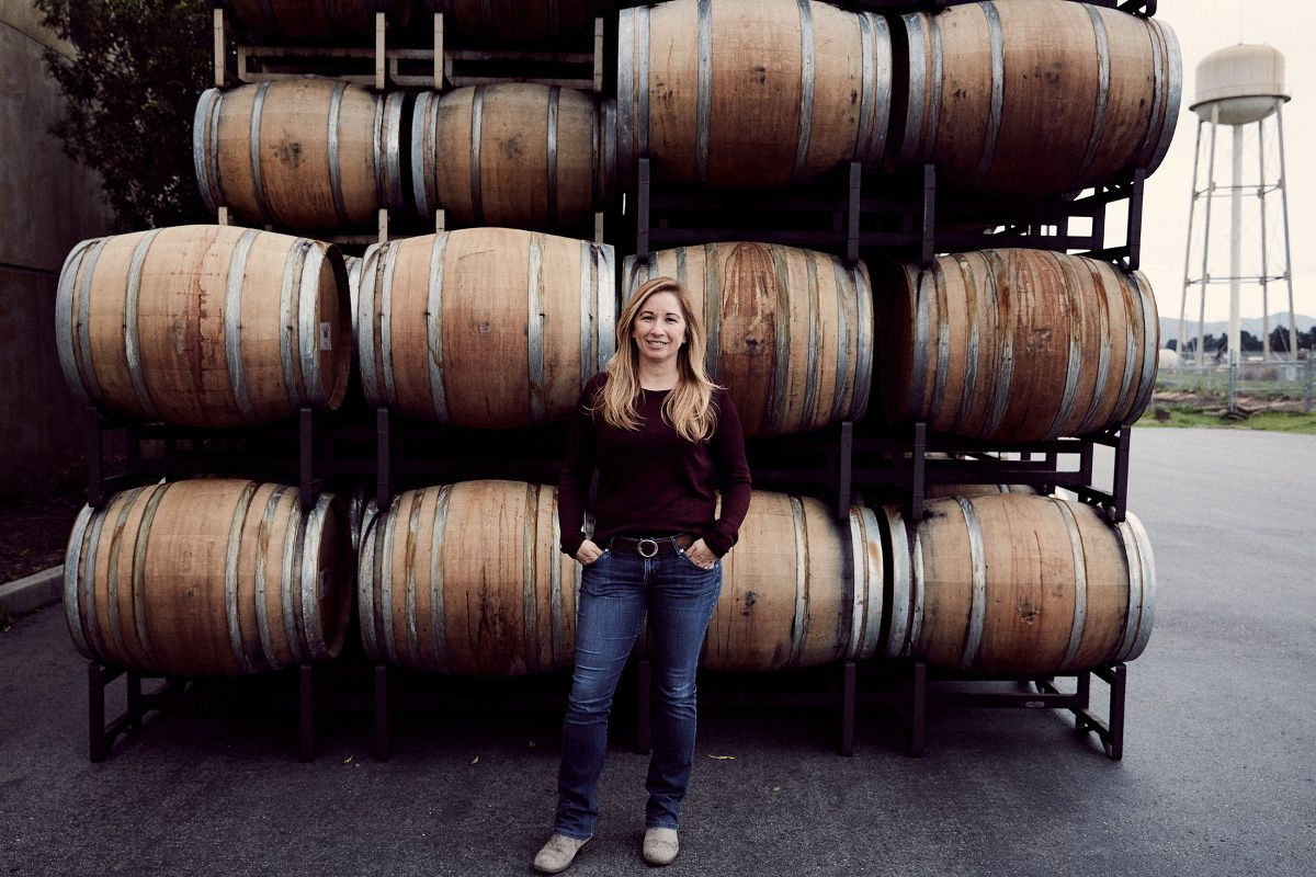 Monica Belavic, Director of Winemaking